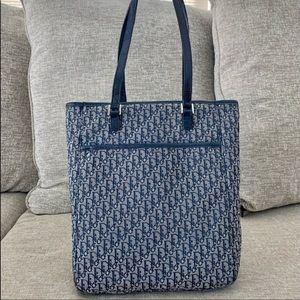 Authentic Vintage Dior Rare Signature Tote Bag.